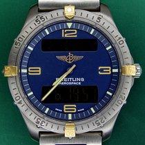 Breitling Professional Series  40mm Aerospace Titanium Gold
