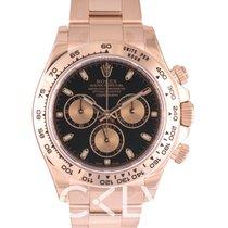 勞力士 (Rolex) Daytona Black/18k rose gold Ø40mm - 116505