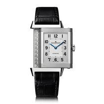Jaeger-LeCoultre Reverso Classic Large Stainless Steel Silve