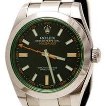 Rolex Oyster Perpetual Milgauss Green