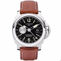 Panerai PAM00088 Luminor GMT 44mm PAM 88 Stainless Steel...