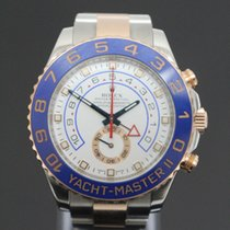Rolex Stainless & Rose Gold Yacht Master II