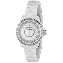 Chanel J12 Mother of Pearl White Ceramic Ladies Watch