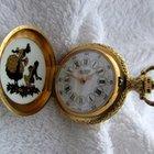 Aerowatch rare woman pocket watch / pendant, looking like new