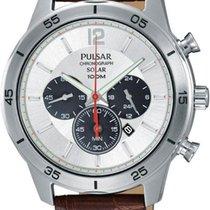 Pulsar Solar PX5049X1 Herrenchronograph Klassisch schlicht