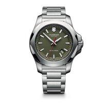 Victorinox Swiss Army I.N.O.X. green dial, steel bracelet