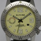 "Glycine ""Lagunare Automatic L1000"" rubber and leather..."
