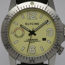 """Glycine """"Lagunare Automatic L1000"""" rubber and leather..."""