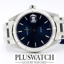 Eberhard & Co. Aquadate Solo Tempo 40mm Blue Dial 2012 2785
