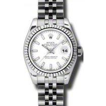 ロレックス (Rolex) Lady-Datejust 26 179174-WHTSFJ White Index...