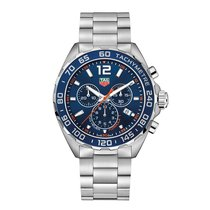 TAG Heuer Formula 1 43mm Chrono Date Quartz Mens Watch Ref...
