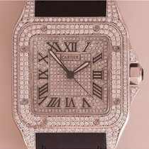 Cartier 2656 Santos 100 Large Diamonds