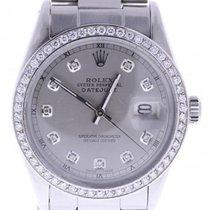 Rolex Datejust Automatic-self-wind Mens Watch 16030 (certified...