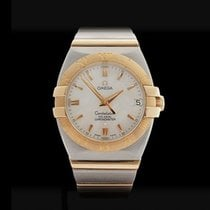 Omega Constellation Double Eagle Stainless Steel/18k Yellow...