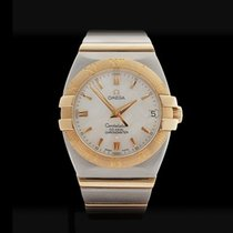 Omega Constellation Double Eagle Stainless Steel & 18k...