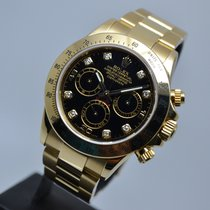 Rolex Daytona 18K Gold Diamond Dial 2 YEARS ROLEX WARRANTY