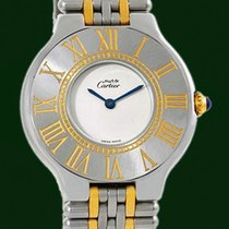 Cartier Must 21 Lady 18k Gold Steel Box&Papers