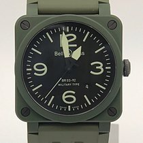 Bell & Ross Br03-92-ck Green Ceramic Automatic Watch
