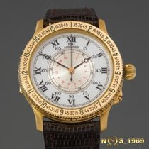 Longines Lindbergh Hour Angle 38mm 18K Gold ref 989.5216...