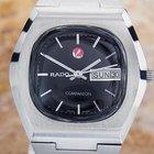 Rado Companion Day Date S. Steel Automatic Watch 1968 Scx308