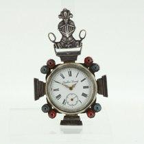 EDOUARD QUARTIER GIRARD Freemasons Pocket Watch Rare Huguenot...