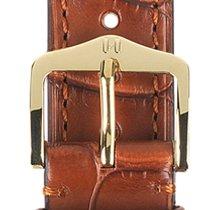 Hirsch Uhrenarmband Earl goldbraun L 04707079-1-19 19mm