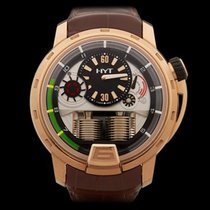 HYT H1 Hydraulic with Power Reserve 18k Rose Gold Gents H1...