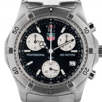 TAG Heuer Professional 1/10 TH Second Stahl Quarz Chronograph...
