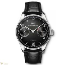 IWC Portuguese Automatic Stainless Steel Black Men's Watch