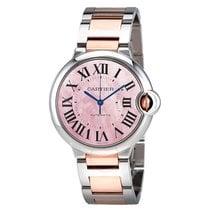 Cartier Ballon Bleu Pink Mother of Pearl Dial Ladies Watch