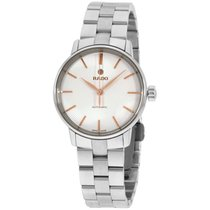Rado Coupole Classic Silver Dial Two-tone Ss Automatic Ladies...