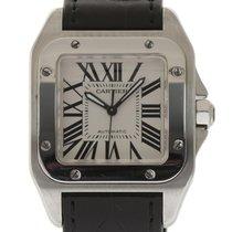 Cartier Santos 100 Mid Size W20106X8 Steel Automatic Box/Paper...