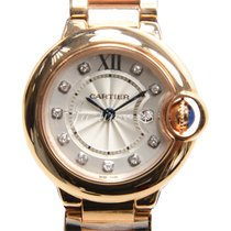Cartier WE902025 BALLON BLUE DE 28mm PINK GOLD 2016