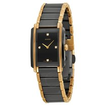 Rado Integral Jubile Ceramic Black Dial Watch