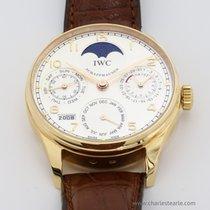 IWC Rose Gold Portuguese Perpetual Calendar