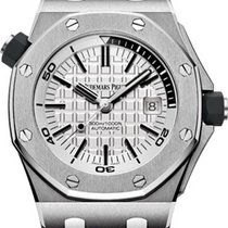 Audemars Piguet Royal Oak Offshore Diver White Dial