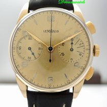 Lemania Chronograph Cal.15TL - Gold 18k/750