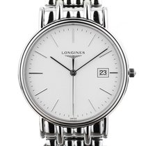 Longines Prèsence white 38,5mm - L4.790.4.12.6