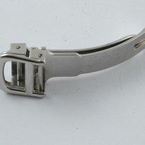 Cartier Leder Armband Faltschlisse 12mm Deployment Clasp Neuw