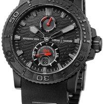 Ulysse Nardin Maxi Marine Diver Black Ocean Mens Watch