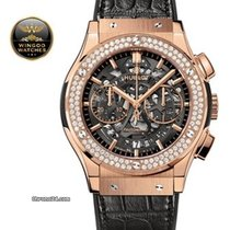 Hublot - Classic Fusion Aero King Gold Diamonds
