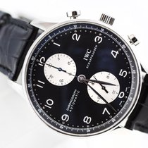 "IWC Portuguese Chronograph Steel ""Panda"""