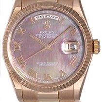 Rolex Men's Rolex Rose Gold President Day-Date Watch 118235