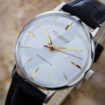 Orient Stainless Steel Watch For Men Made In Japan Circa 1960s...