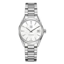 TAG Heuer Carrera 32mm Date Quartz Ladies Watch Ref WAR1311.BA...