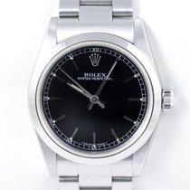Rolex Oyster Perpetual Lady Medium Mid Papiere Hangtag...
