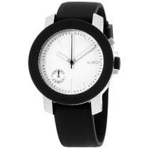 Nixon Raider A317000 White Dial Women's Rubber Band Watch