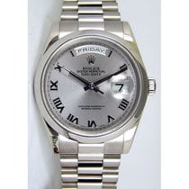 Rolex Day-Date President 18K Solid White Gold