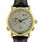 Ulysse Nardin GMT Perpetual Calender 18K Solid Yellow Gold