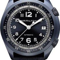 Hamilton khaki Pilot Pioneer Alu H80495845 Herren Automatikuhr...